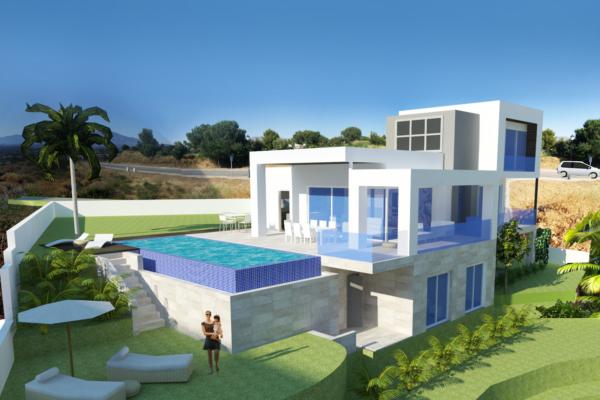 4 Bedroom, 3 Bathroom Villa For Sale in Green Village, Mijas